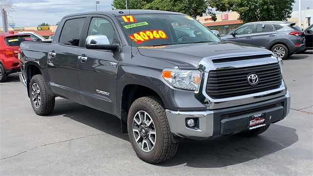 2017 Toyota Tundra Mpg >> Pre Owned 2017 Toyota Tundra Limited With Navigation 4wd